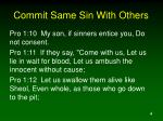 commit same sin with others