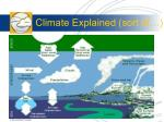 climate explained sort of