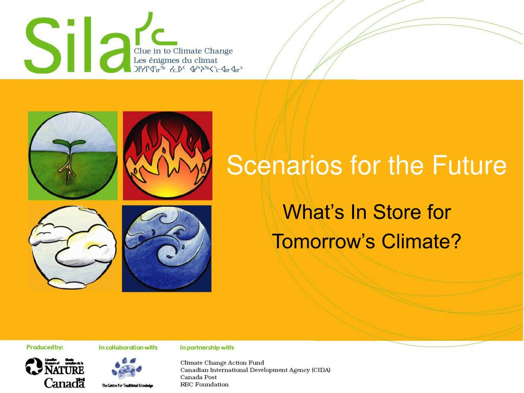 scenarios for the future l.