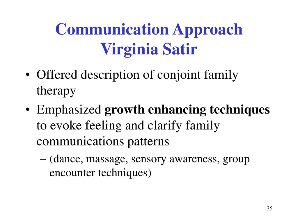 Communication Approach