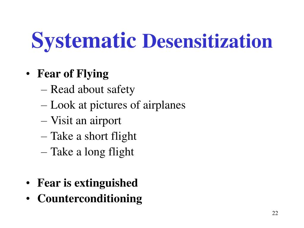 desensitization therapy