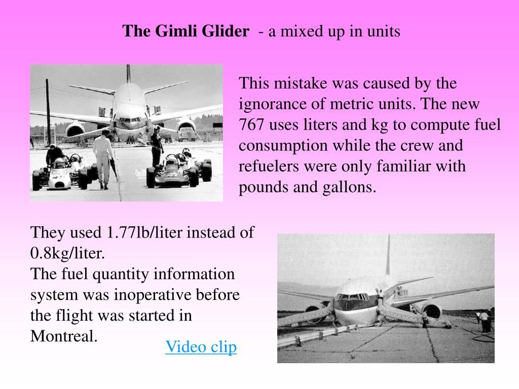 The Gimli Glider