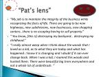 pat s lens