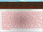dlf commanders court ethiraj road chennai