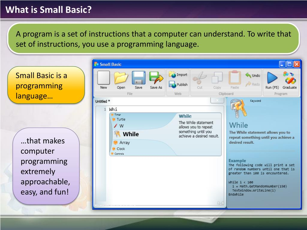 What is Small Basic?