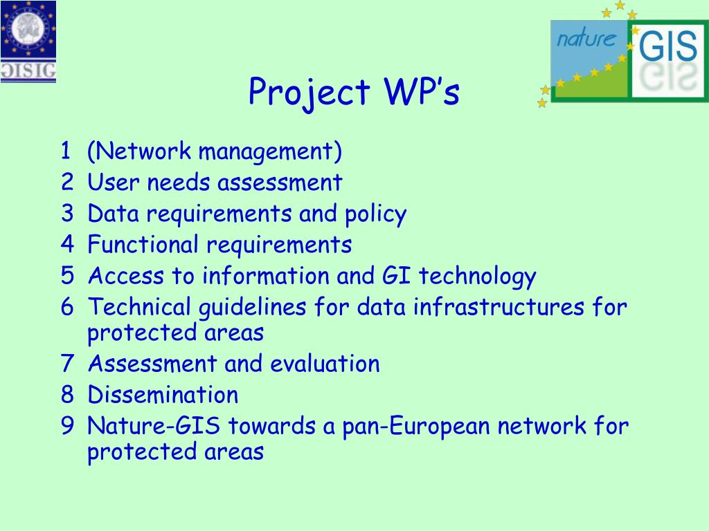 Project WP's