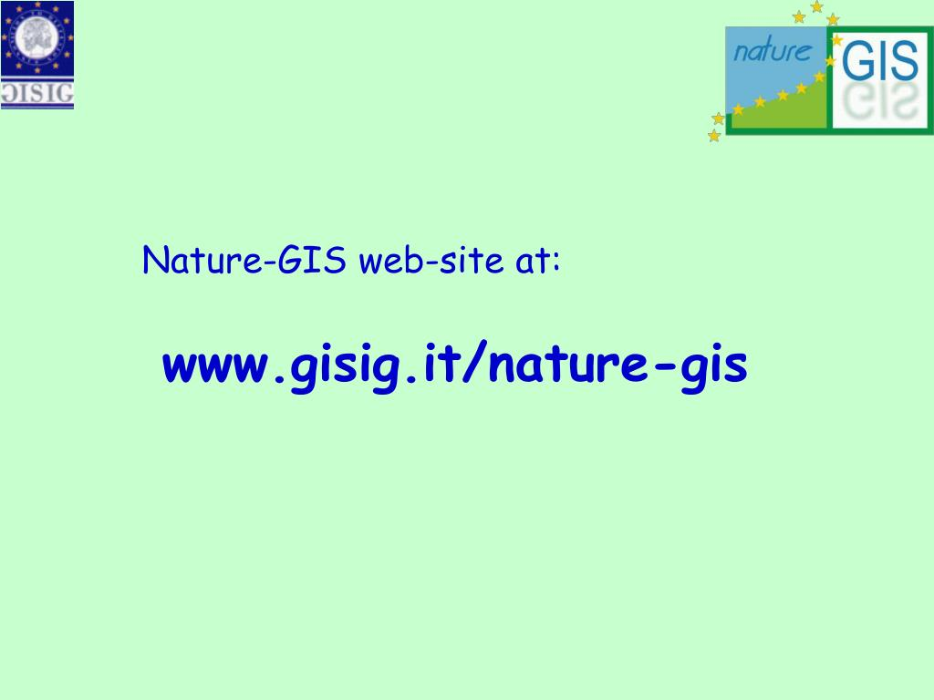 Nature-GIS web-site at:
