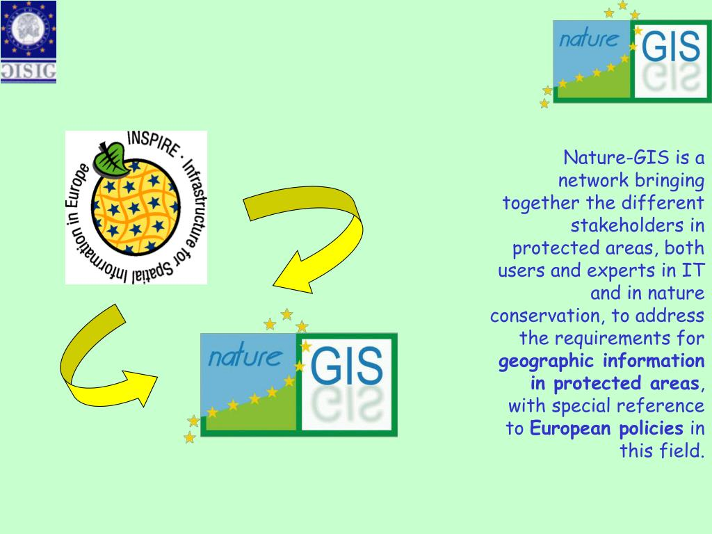 Nature-GIS is a network bringing together the different stakeholders in protected areas, both users and experts in IT and in nature conservation, to address the requirements for