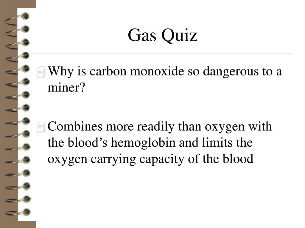 Gas Quiz