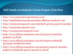 full details of indiabulls greens projects click here