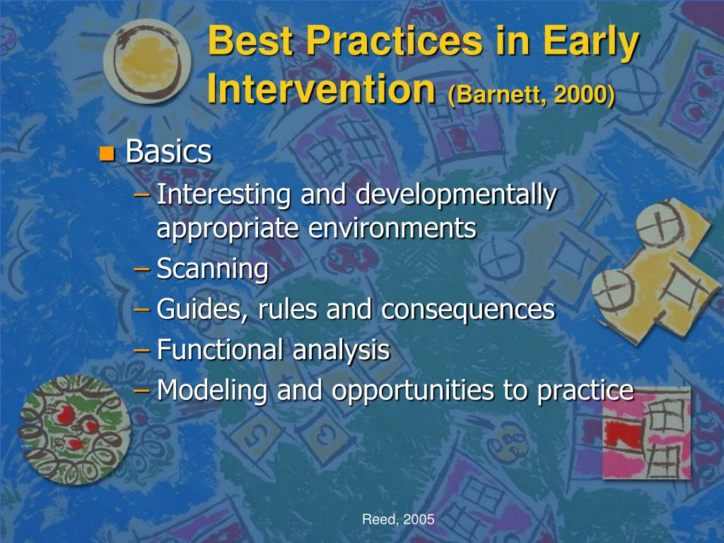Best Practices in Early Intervention