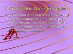 0 biblical mandate for evangelism