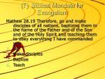 7 biblical mandate for evangelism