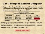 the thompson lumber company14