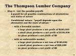 the thompson lumber company6
