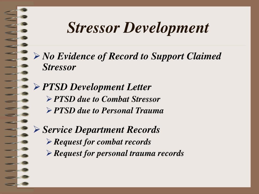 Stressor Development