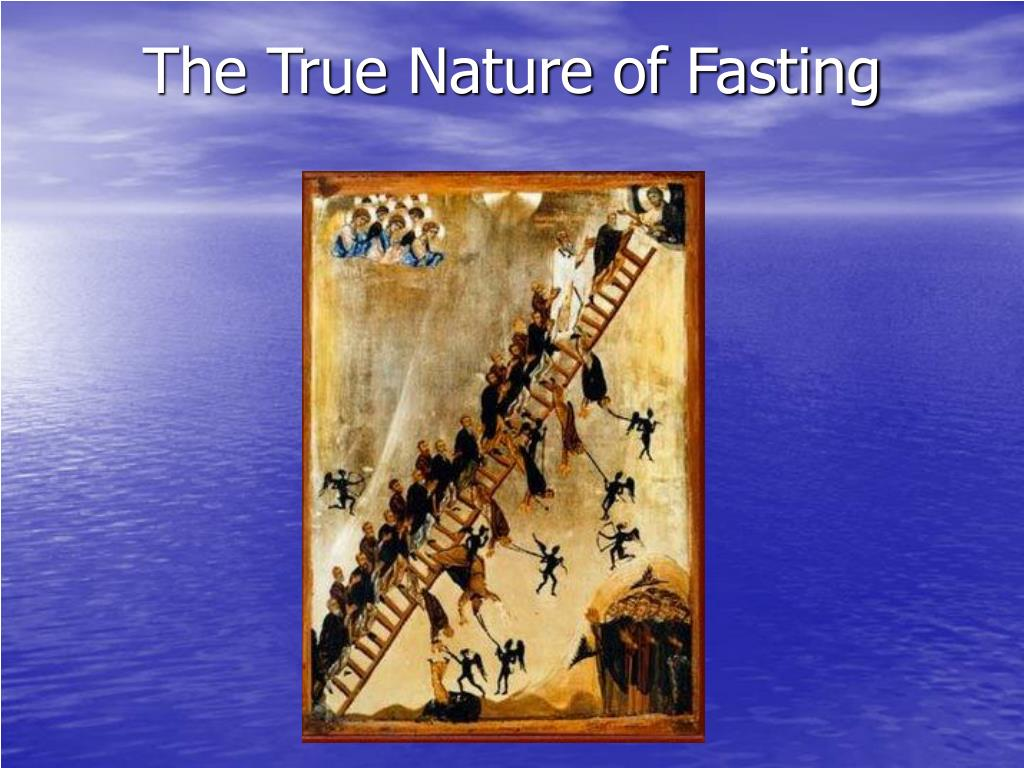 the true nature of fasting l.