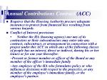 annual contributions contract acc14