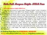 kolte patil margosa heights nibm pune3