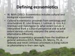 d efin ing ecosemiotics1