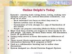 online delphi s today