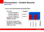 iprocurement content security what s new11