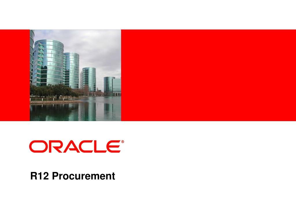 r12 procurement l.