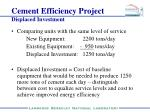 cement efficiency project3