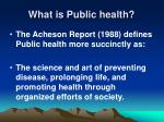 what is public health10