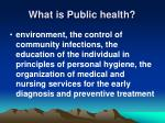 what is public health3