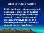 what is public health8