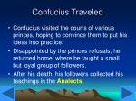 confucius traveled