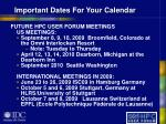 important dates for your calendar38