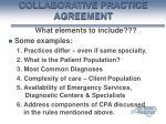collaborative practice agreement47