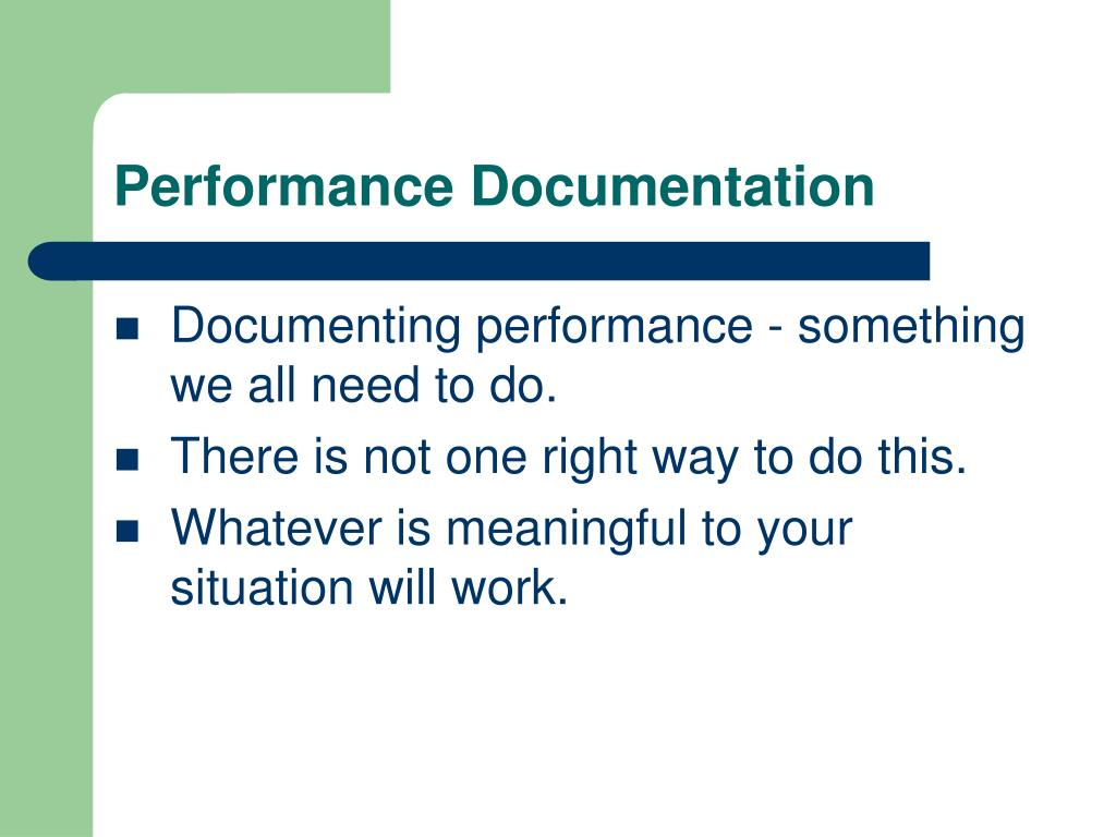 Performance Documentation