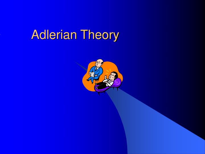 adlerian theory n.