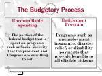 the budgetary process10