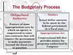 the budgetary process7