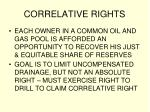 correlative rights