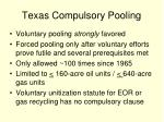 texas compulsory pooling