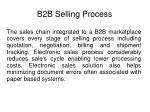 b2b selling process