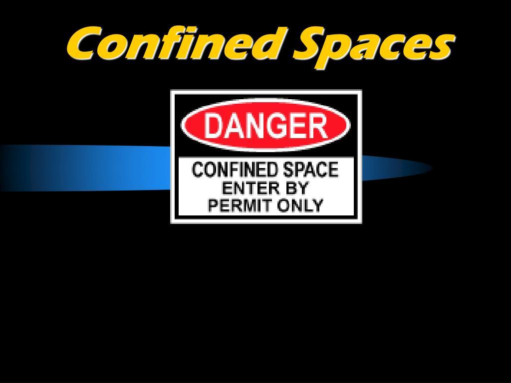 confined spaces l.