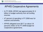 aphis cooperative agreements