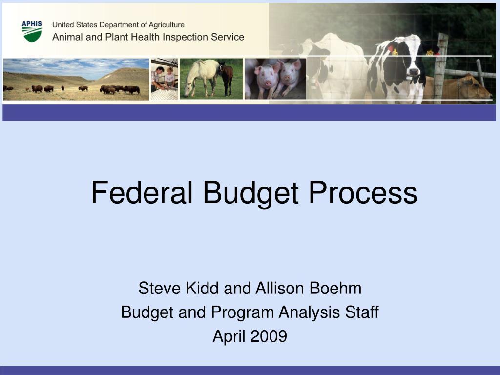 federal budget process l.