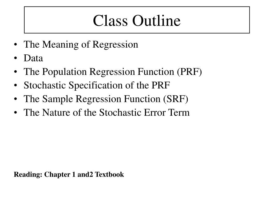 class outline l.