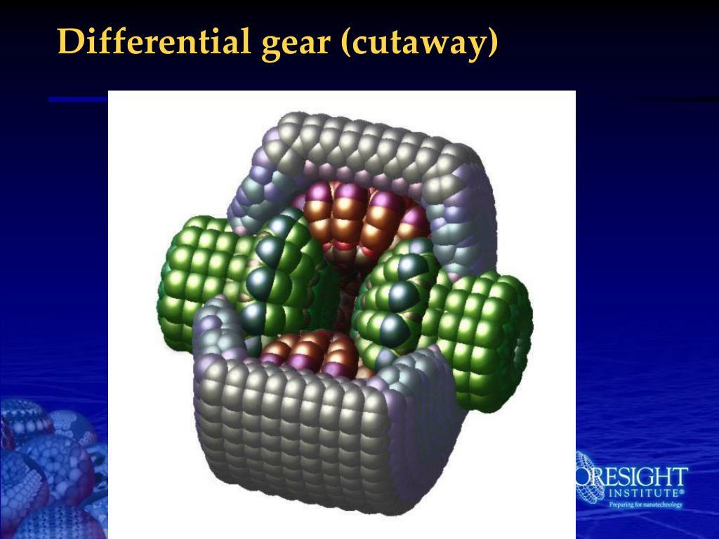 Differential gear (cutaway)