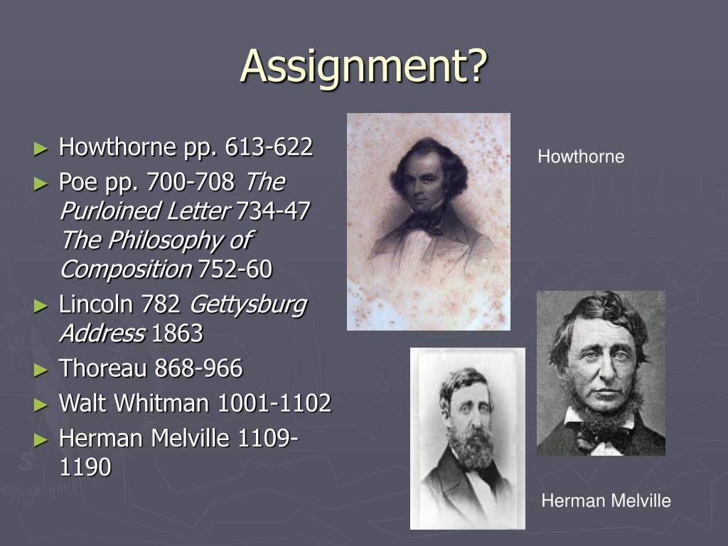 Assignment?