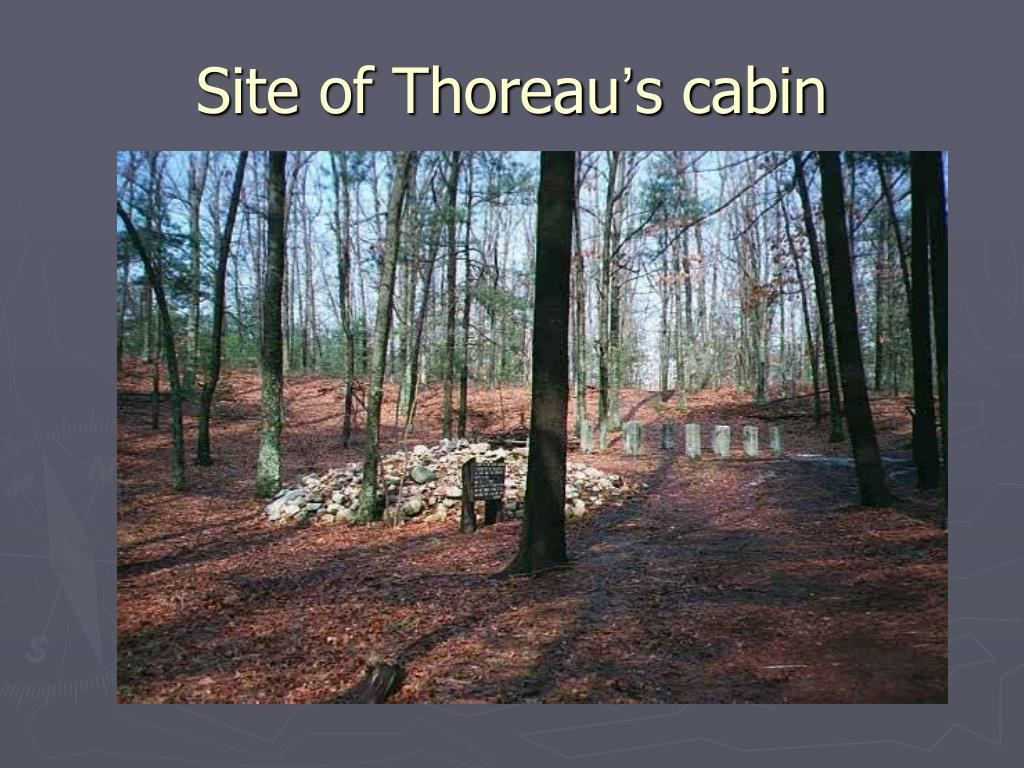 Site of Thoreau
