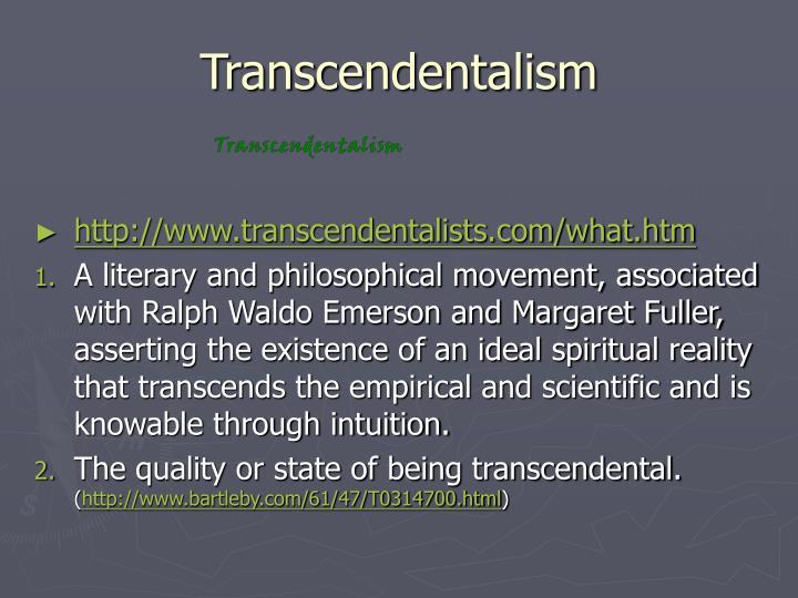 Transcendentalism2