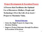 project development execution process